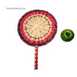 Abanico artesanal mexicano Ref. 500001 - Tienda Mexicana Huastekoo.es
