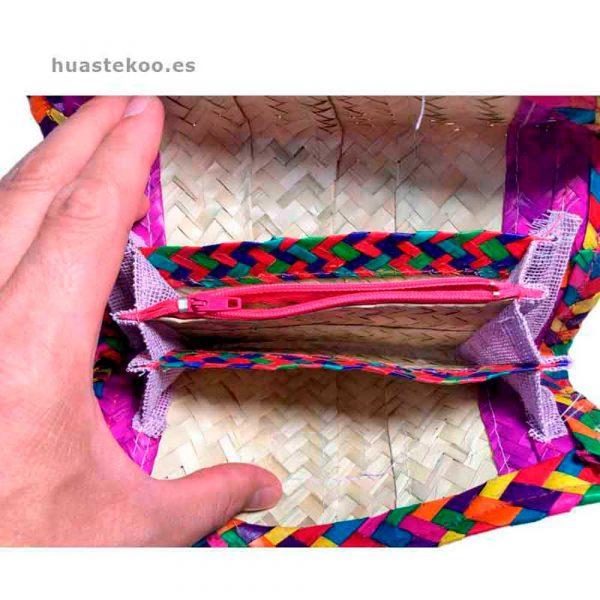 Billetera artesanal mexicana Ref:200001 - Tienda de productos mexicanos – Huastekoo.es