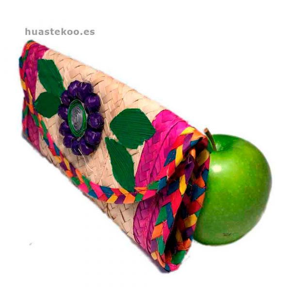 Billetera artesanal mexicana de fibra natural Ref:200001 - Tienda de productos mexicanos – Huastekoo.es