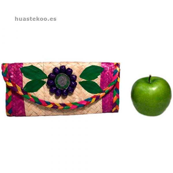 Billetera artesanal mexicana Ref:200001 - Tienda de productos mexicanos en Madrid – Huastekoo.es - 11