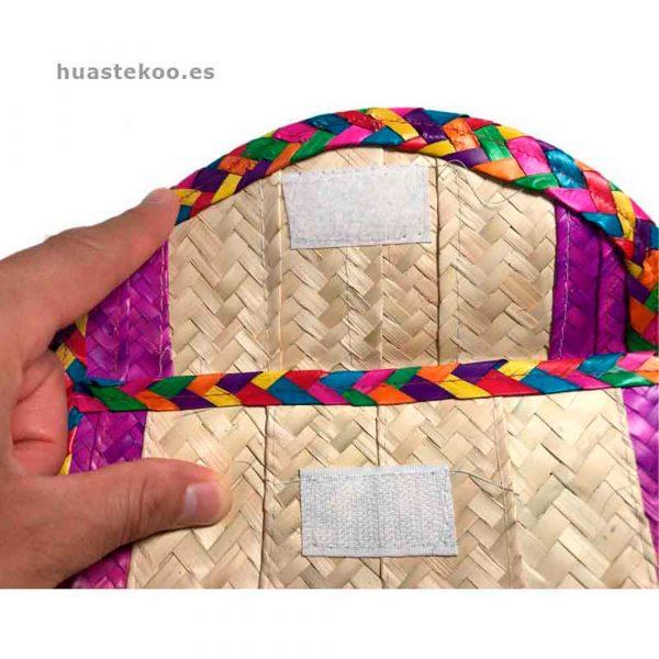 Billetera artesanal mexicana Ref:200001 - Tienda de productos mexicanos en Madrid, España – Huastekoo.es - 12