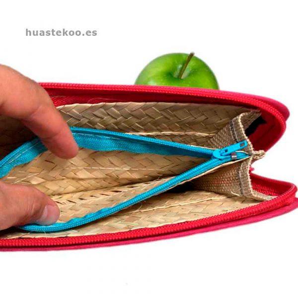 Billetera artesanal mexicana de palma natural - Tienda mexicana Huastekoo.es - 200002-2