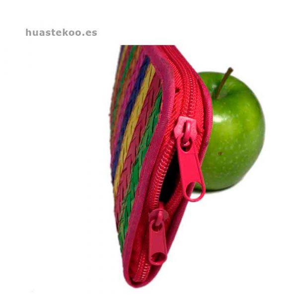 Billetera artesanal mexicana de palma natural - Tienda mexicana Huastekoo.es - 200002