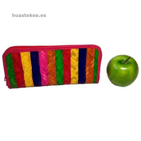 Billetera artesanal mexicana de palma natural - Tienda mexicana Huastekoo.es - 200002-6