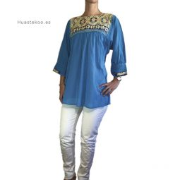 Blusa artesanal mexicana - Tienda mexicana Huastekoo.es - 800002 - 3