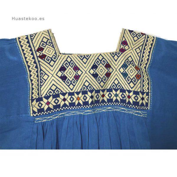 Blusa artesanal mexicana - Tienda mexicana Huastekoo.es - 800002 - 4