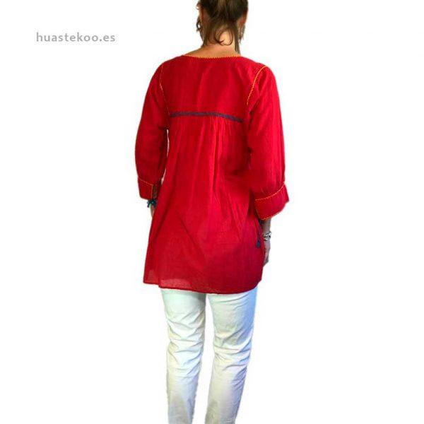 Blusa artesanal mexicana - Tienda mexicana Huastekoo.es en España - 800001 - 10