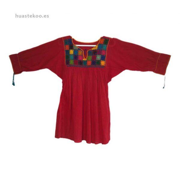 Blusa artesanal mexicana - Tienda mexicana Huastekoo.es en España - 800001 - 2