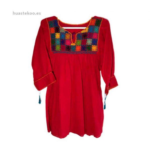 Blusa artesanal mexicana - Tienda mexicana Huastekoo.es en España - 800001