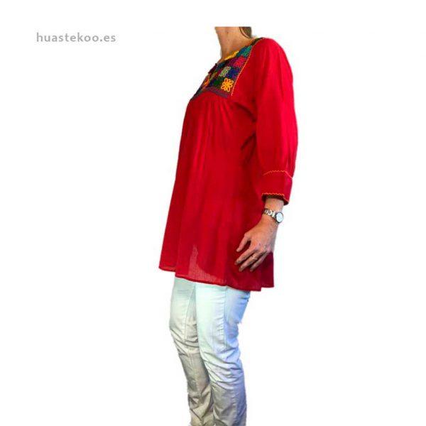 Blusa artesanal mexicana - Tienda mexicana Huastekoo.es en España - 800001 - 9
