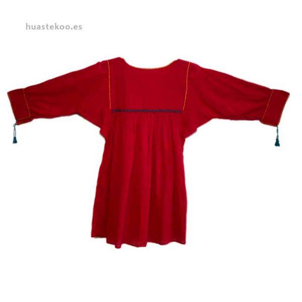 Blusa artesanal mexicana - Tienda mexicana Huastekoo.es en España - 800001 - 4
