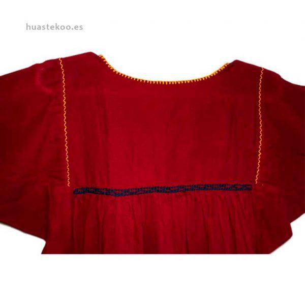 Blusa artesanal mexicana - Tienda mexicana Huastekoo.es en España - 800001 - 5
