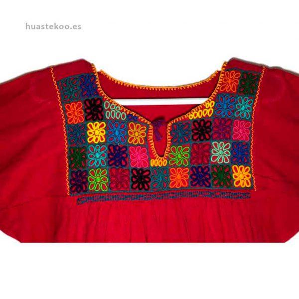 Blusa artesanal mexicana - Tienda mexicana Huastekoo.es en España - 800001 - 6