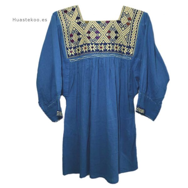 Blusa artesanal mexicana - Tienda mexicana Huastekoo.es - 800002 - 10
