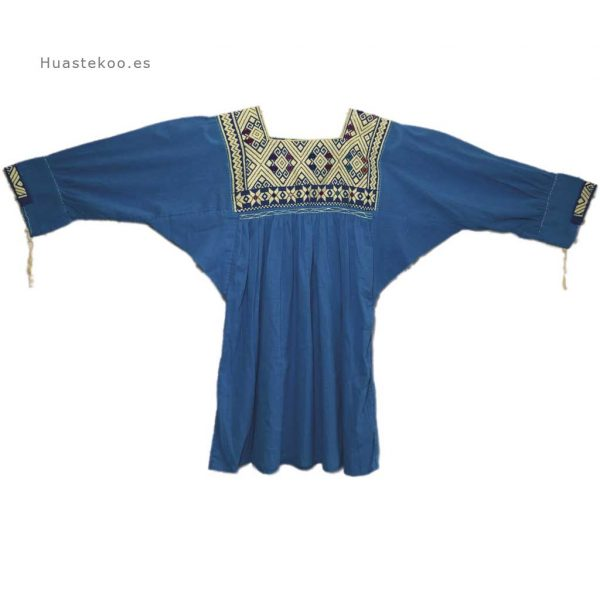 Blusa artesanal mexicana - Tienda mexicana Huastekoo.es - 800002 - 5