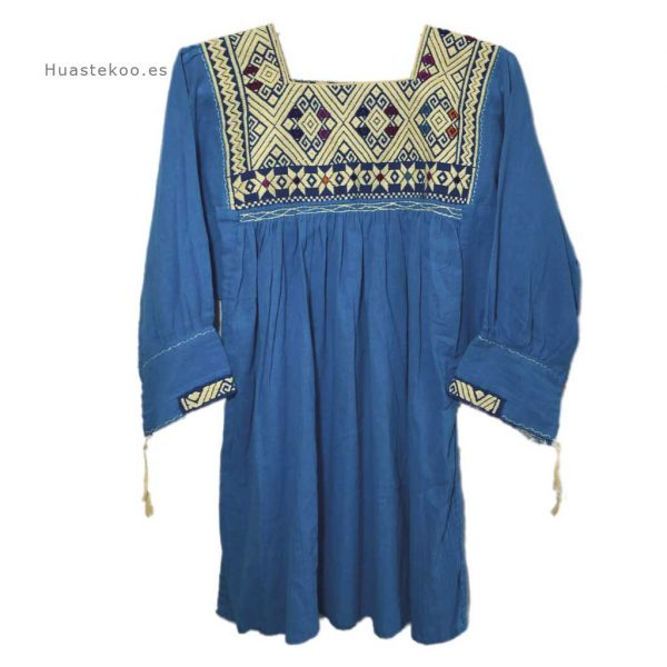 Blusa artesanal mexicana - Tienda mexicana Huastekoo.es - 800002 - 6