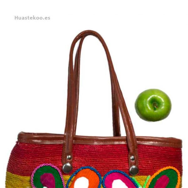 Bolso artesanal mexicano para regalo original - Tienda mexicana Huastekoo.es - 100008 - 7