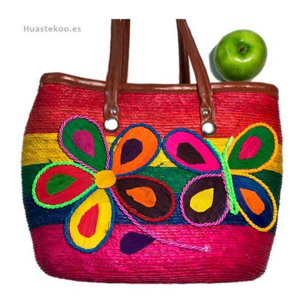 Bolso artesanal mexicano para regalo original - Tienda mexicana Huastekoo.es - 100008 - 8
