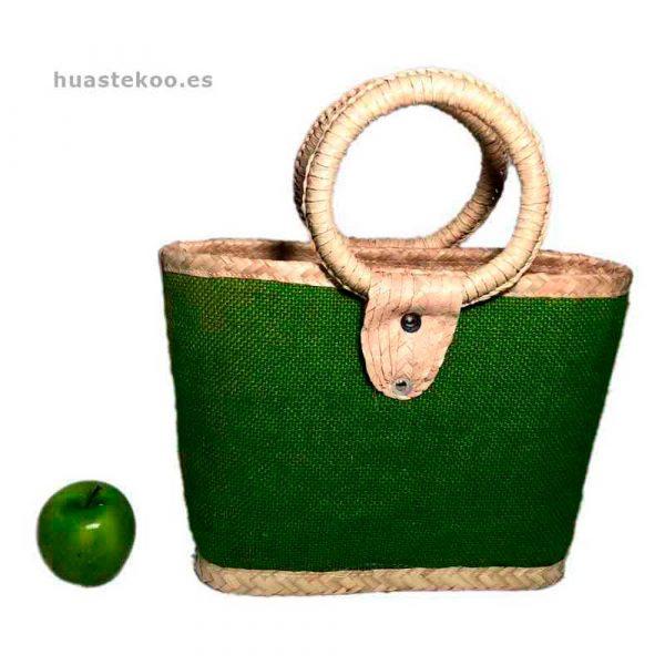 Bolso verde artesanal mexicano - Tienda mexicana Huastekoo.es - 100003