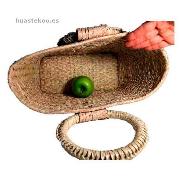 Bolso verde artesanal mexicano - Tienda mexicana Huastekoo.es - 100003 - 4