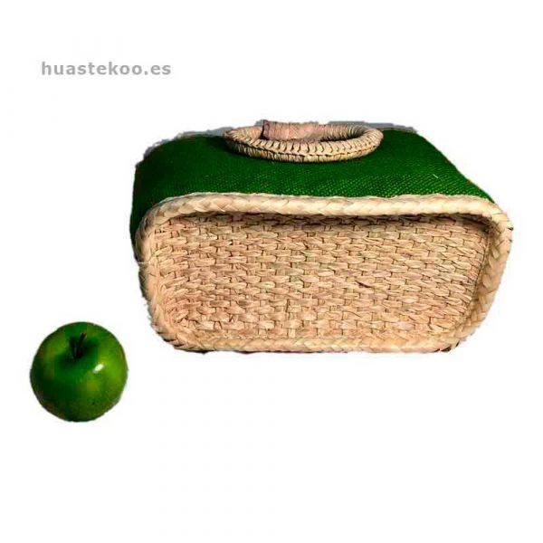 Bolso verde artesanal mexicano - Tienda mexicana Huastekoo.es - 100003 - 5