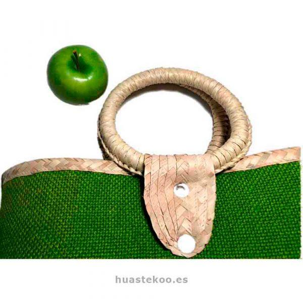 Bolso verde artesanal mexicano - Tienda mexicana Huastekoo.es - 100003 - 6