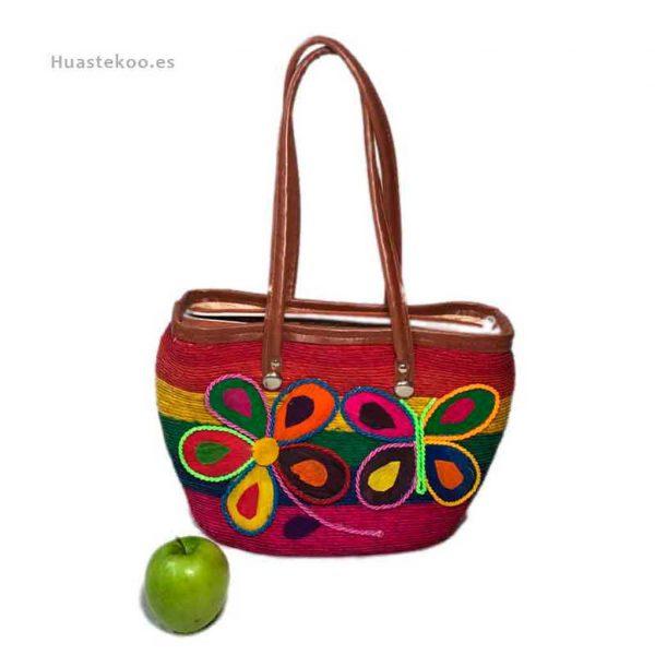 Bolso artesanal mexicano para regalo original - Tienda mexicana Huastekoo.es - 100008