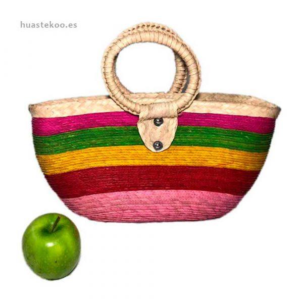 Bolso de colores artesanal mexicano - Productos mexicanos Huastekoo.es - 100004 - 2