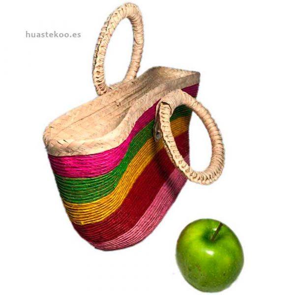 Bolso de colores artesanal mexicano - Productos mexicanos Huastekoo.es - 100004