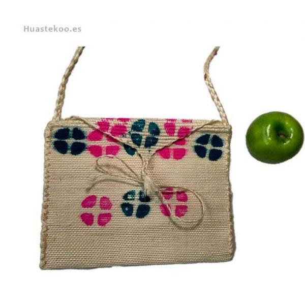 Bolso morral huasteco grande hecho a mano por artesanos mexicanos - Tienda mexicana online - 100012 - 2