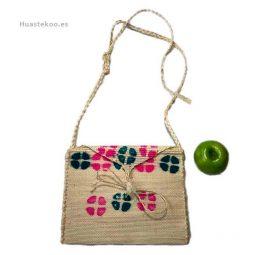 Bolso morral huasteco grande hecho a mano por artesanos mexicanos - Tienda mexicana online - 100012