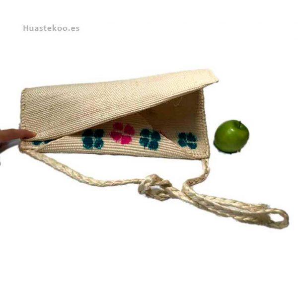 Bolso morral huasteco hecho a mano por artesanos mexicanos - Tienda mexicana online - 100011 - 8