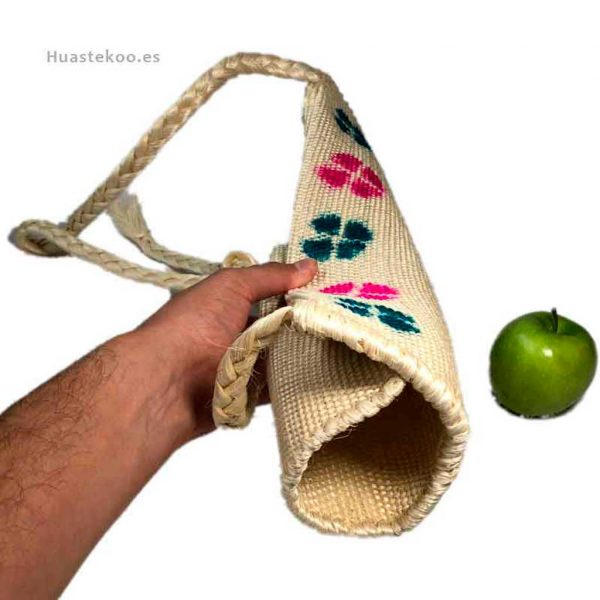 Bolso morral huasteco hecho a mano por artesanos mexicanos - Tienda mexicana online - 100011 - 9