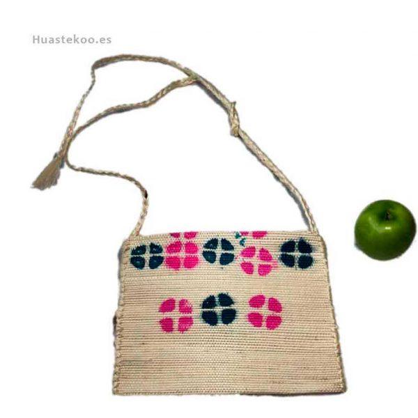 Bolso morral huasteco grande hecho a mano por artesanos mexicanos - Tienda mexicana online - 100012 - 4