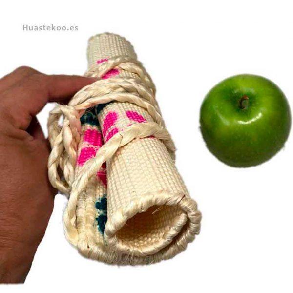 Bolso morral huasteco grande hecho a mano por artesanos mexicanos - Tienda mexicana online - 100012 - 6