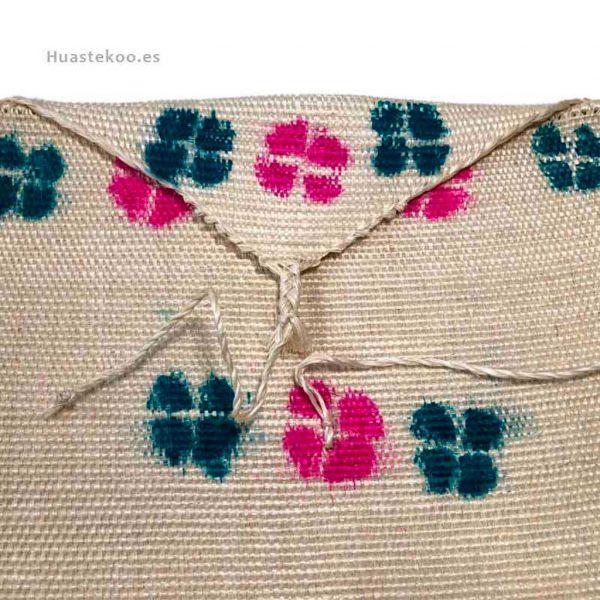 Bolso morral huasteco hecho a mano por artesanos mexicanos - Tienda mexicana online - 100011 - 2