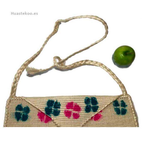 Bolso morral huasteco hecho a mano por artesanos mexicanos - Tienda mexicana online - 100011 - 3