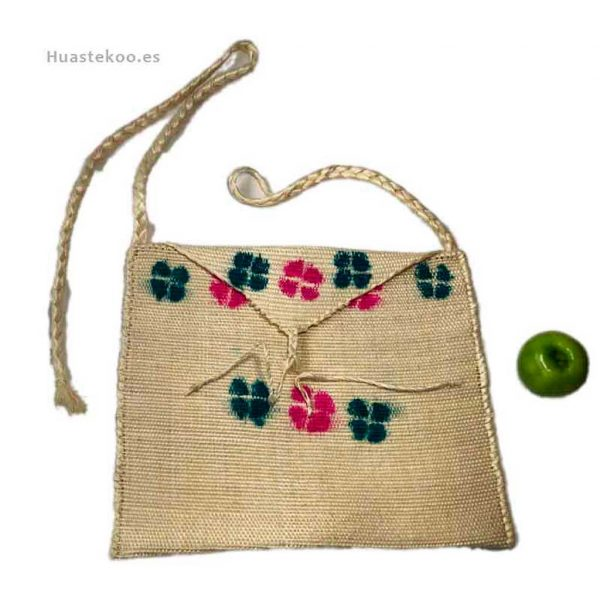 Bolso morral huasteco hecho a mano por artesanos mexicanos - Tienda mexicana online - 100011