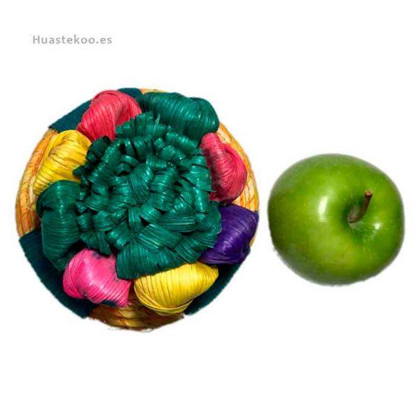 Joyero estuche artesanal mexicano de palma con flor de maíz - Tienda mexicana online - 400001 - 5