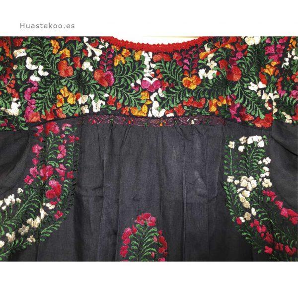 Vestido San Antonino artesanal mexicano - Tienda mexicana en Madrid, España - 700001 - 4
