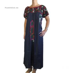 Vestido San Antonino artesanal mexicano - Tienda mexicana en Madrid, España - 700001 - 3