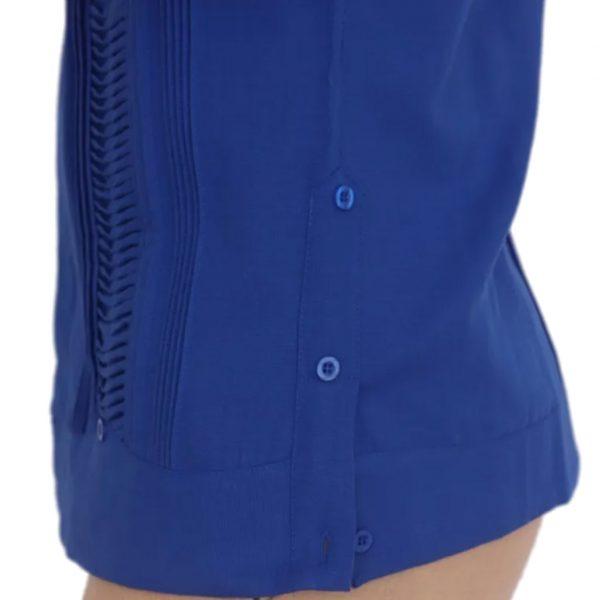 Guayabera mexicana azul - Tienda mexicana online - A100001 - 3