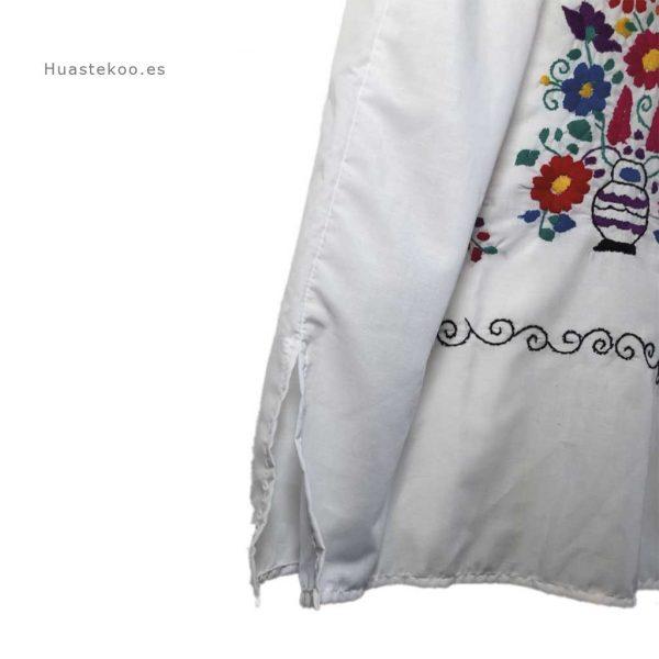 Vestido mexicano artesanal bordado a mano para verano o playa - Tienda mexicana online - 700004 - 4