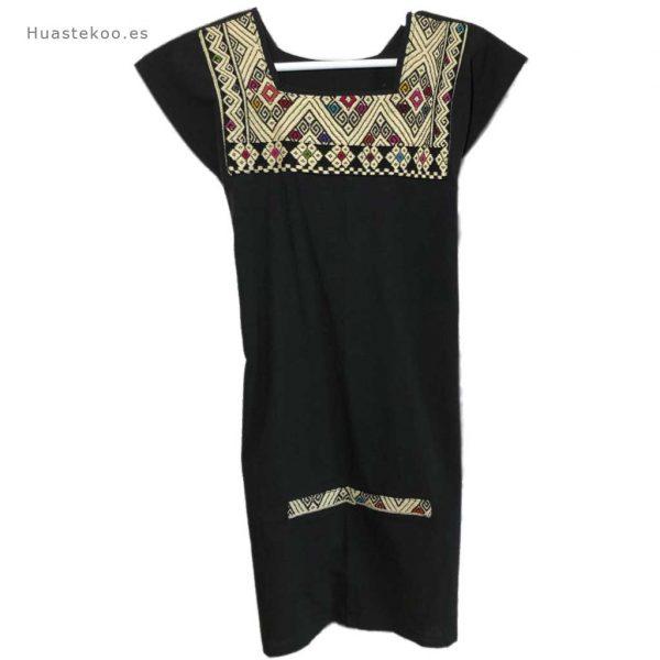 Vestido mexicano color negro - Tienda mexicana online - 700002 - 5
