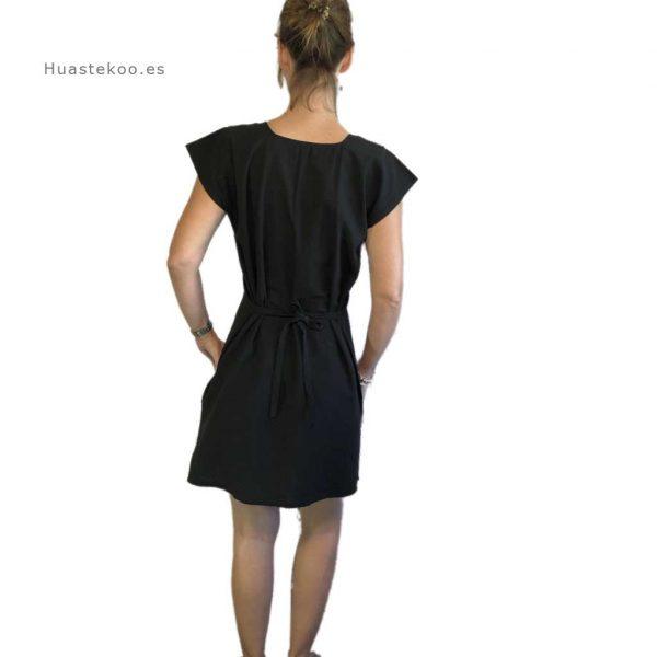 Vestido mexicano color negro - Tienda mexicana online - 700002