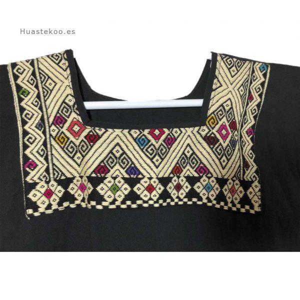 Vestido mexicano color negro - Tienda mexicana online - 700002 - 7