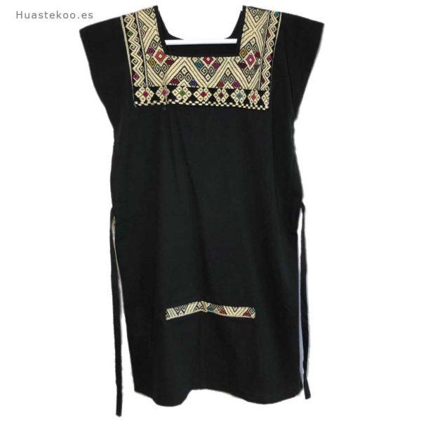 Vestido mexicano color negro - Tienda mexicana online - 700002 - 8