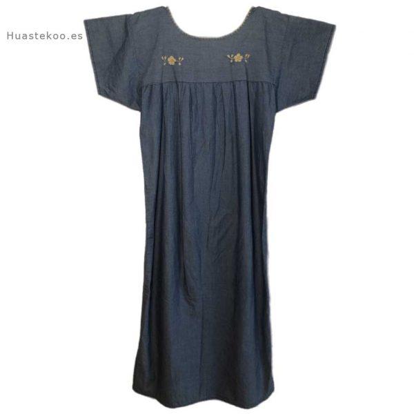 Vestido artesanal mexicano Tehuacán bordado a mano - Tienda mexicana online Huastekoo.es - 700003 - 6