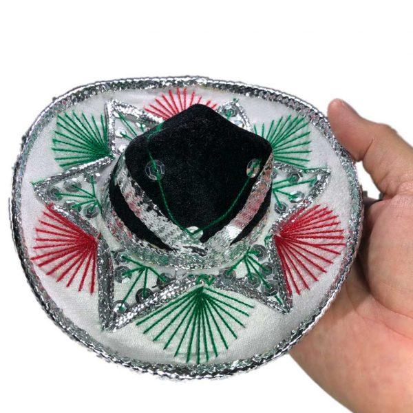 Sombrero miniatura de charro mexicano - Tienda mexicana Online