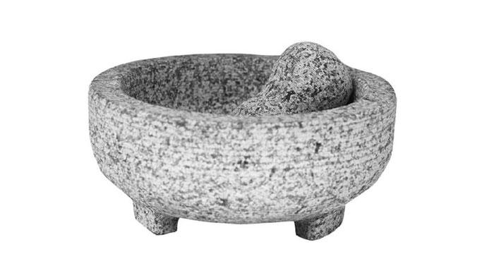 Molcajete de granito - ¿Cómo saber si un molcajete es de piedra volcánica?